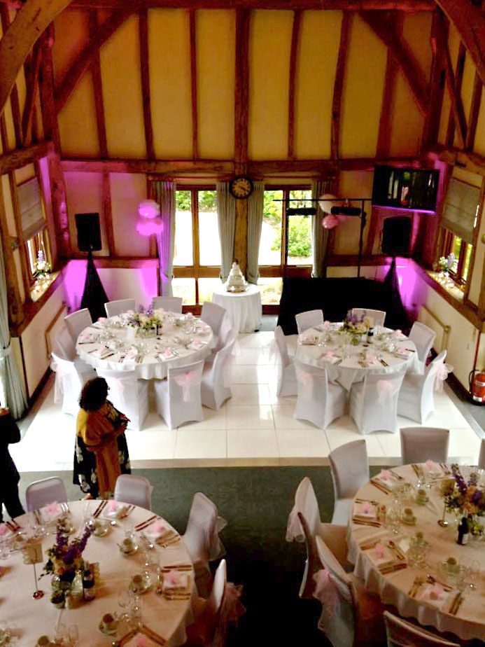 Parties at Warnham Barn