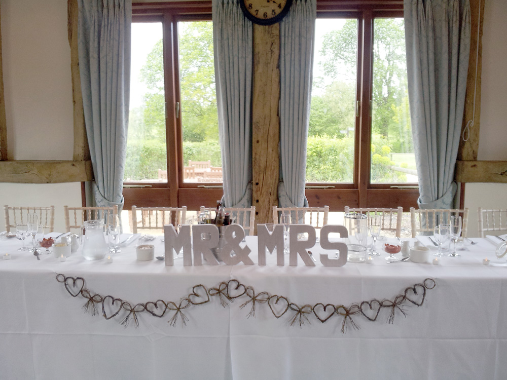 Weddings at Warnham Barn