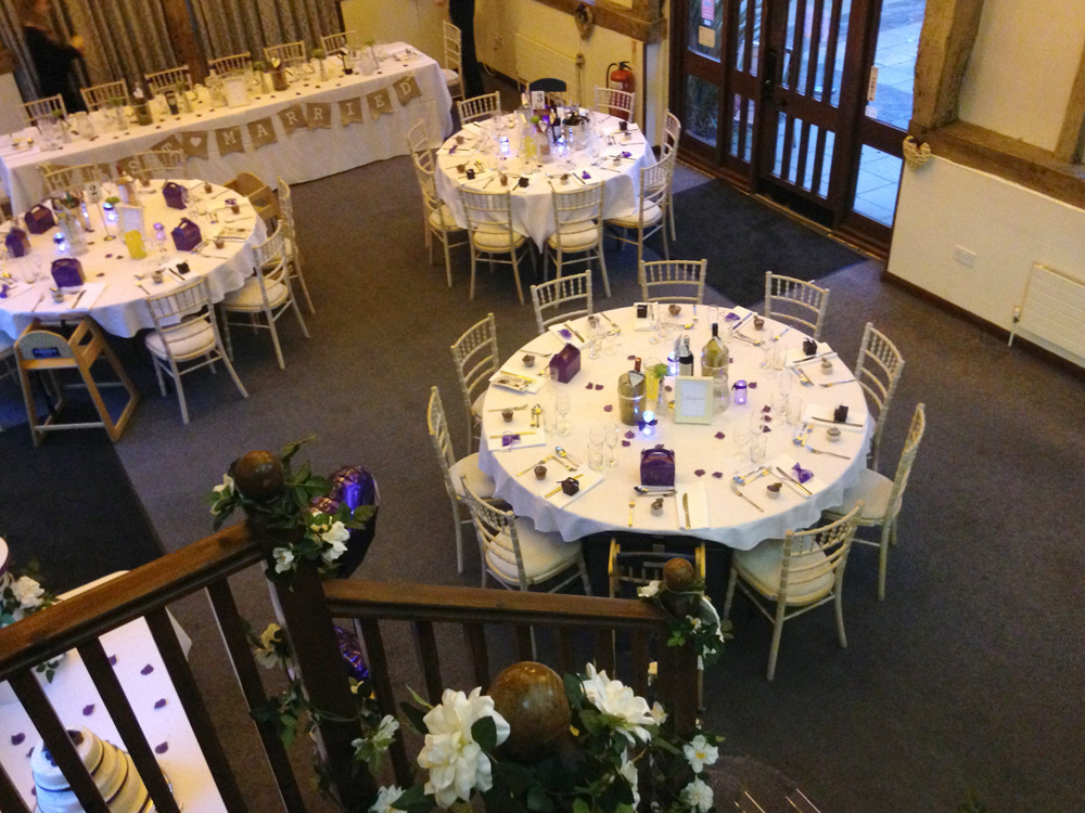 Weddings at Warnham Barn